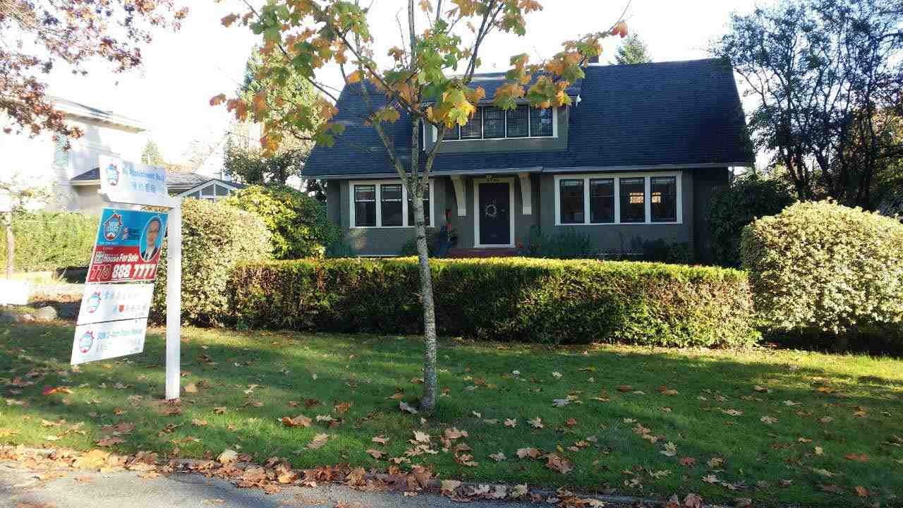 Main Photo: 6720 YEW STREET in Vancouver: S.W. Marine House for sale (Vancouver West)  : MLS®# R2012468
