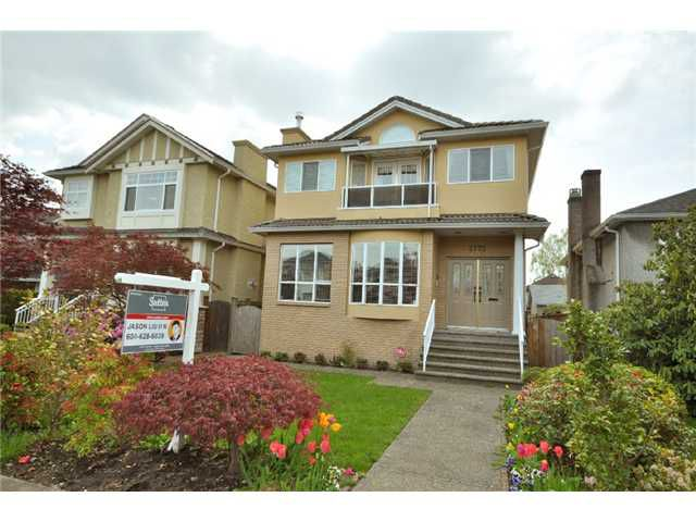 Main Photo: 2772 W 20TH AV in Vancouver: Arbutus House for sale (Vancouver West)  : MLS®# V923858