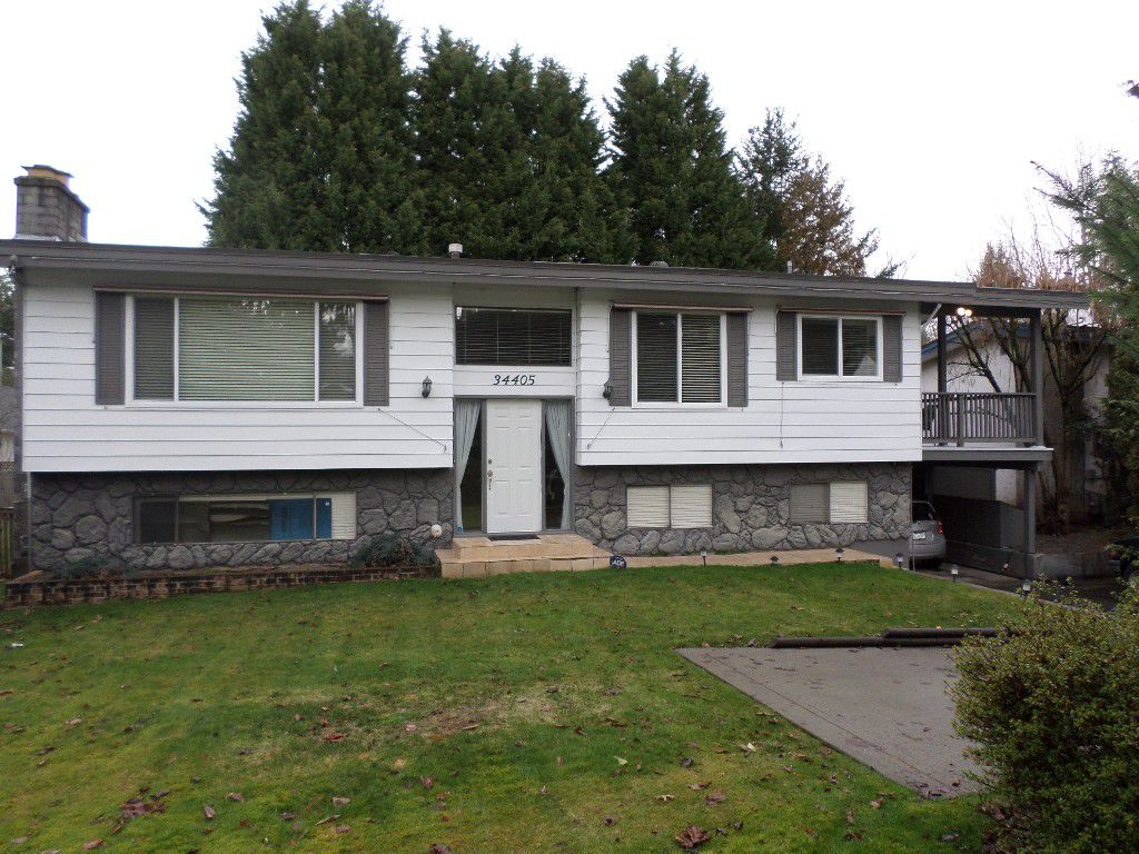 Main Photo: 34405 Immel Street in Abbotsford: Abbotsford East House for sale : MLS®# R2035991