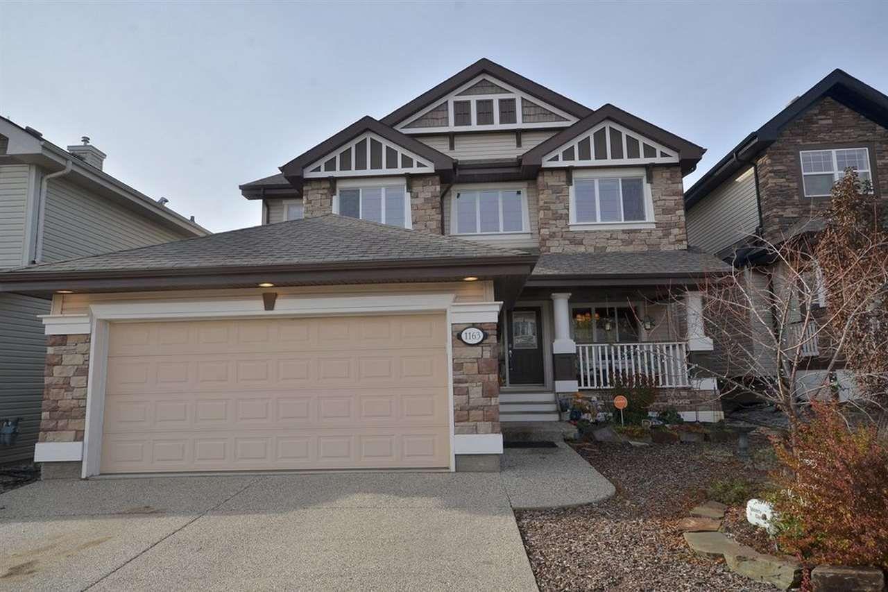 Main Photo: 1163 GOODWIN CI NW in Edmonton: Zone 58 House for sale : MLS®# E4042283