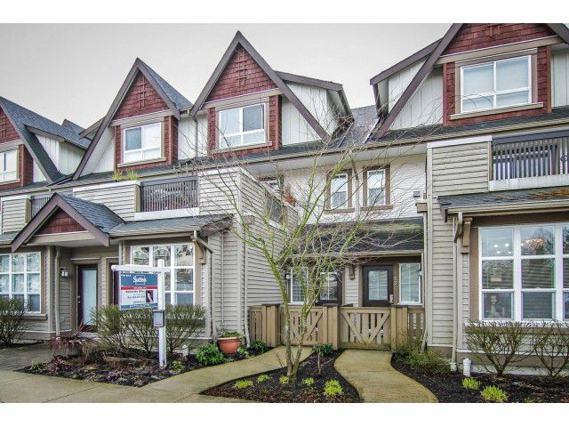 "Main Photo: 52 7155 189 Street in Surrey: Clayton Townhouse for sale in ""BACARA"" (Cloverdale)  : MLS®# F1420610"
