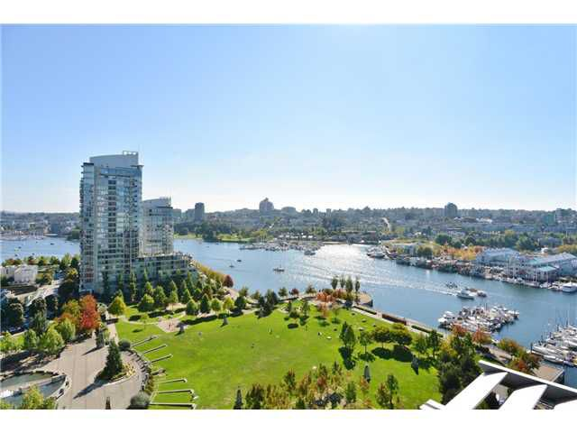 Main Photo: 1806 638 Beach Crescent in Vancouver: Yaletown Condo for sale (Vancouver West)  : MLS®# V1079346