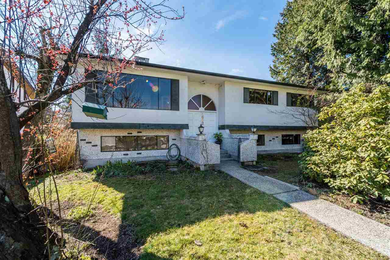 Main Photo: 1632 CORNELL AVENUE in Coquitlam: Central Coquitlam House for sale : MLS®# R2353394