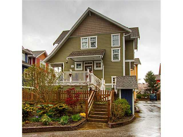 "Main Photo: 4 6400 PRINCESS Lane in Richmond: Steveston South Townhouse for sale in ""MCKINNEY WALK"" : MLS®# V943157"
