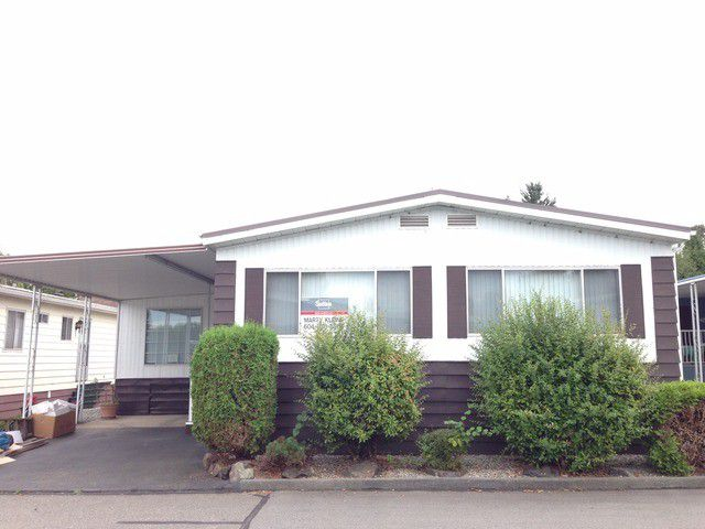 "Main Photo: 28 8254 134TH Street in Surrey: Queen Mary Park Surrey Manufactured Home for sale in ""Westwood Estates"" : MLS®# F1320229"