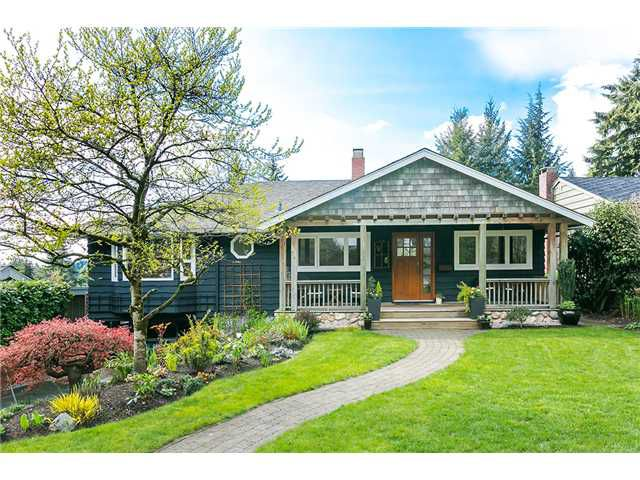 Photo 1: Photos: 4631 CEDARCREST AV in North Vancouver: Canyon Heights NV House for sale : MLS®# V1115330