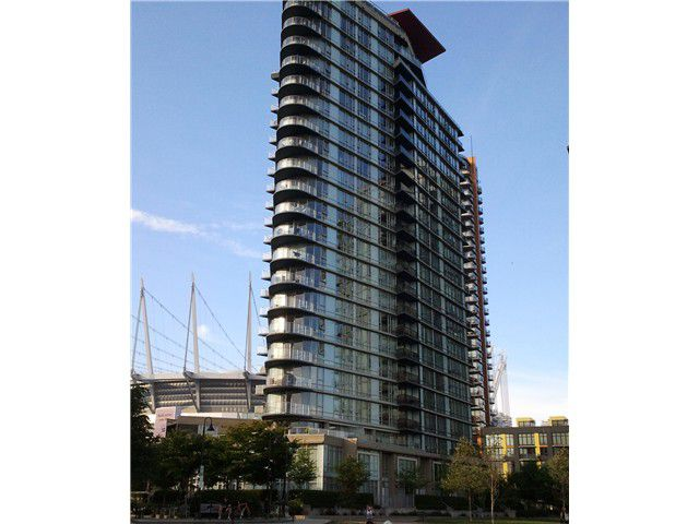 Main Photo: # 2206 918 COOPERAGE WY in Vancouver: Yaletown Condo for sale (Vancouver West)  : MLS®# V1025777