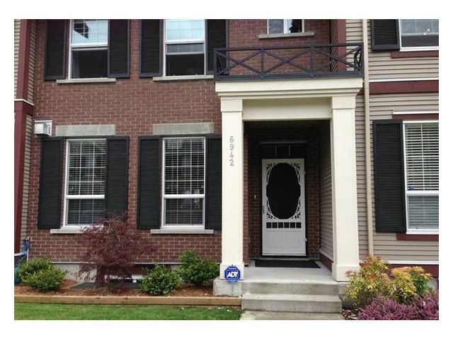 Main Photo: 6942 208a St. in Langley: Willoughby Heights Townhouse for sale : MLS®# F1437901