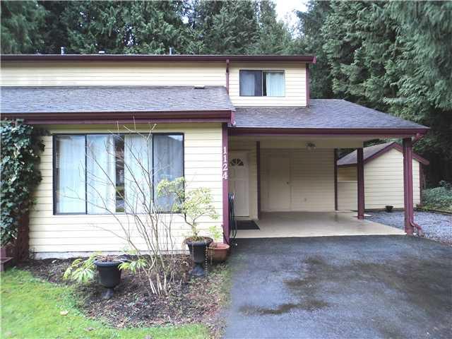 "Main Photo: 1124 JUNIPER Avenue in Port Coquitlam: Lincoln Park PQ House 1/2 Duplex for sale in ""LINCOLN PARK"" : MLS®# V930900"