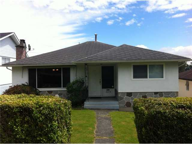 Main Photo: 2378 HARRISON Drive in Vancouver: Fraserview VE House for sale (Vancouver East)  : MLS®# V957604