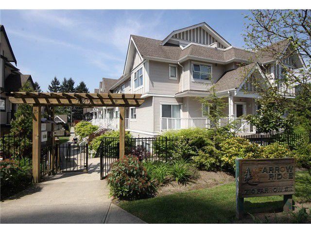 "Main Photo: 54 730 FARROW Street in Coquitlam: Coquitlam West Townhouse for sale in ""FARROW RIDGE"" : MLS®# V1006039"