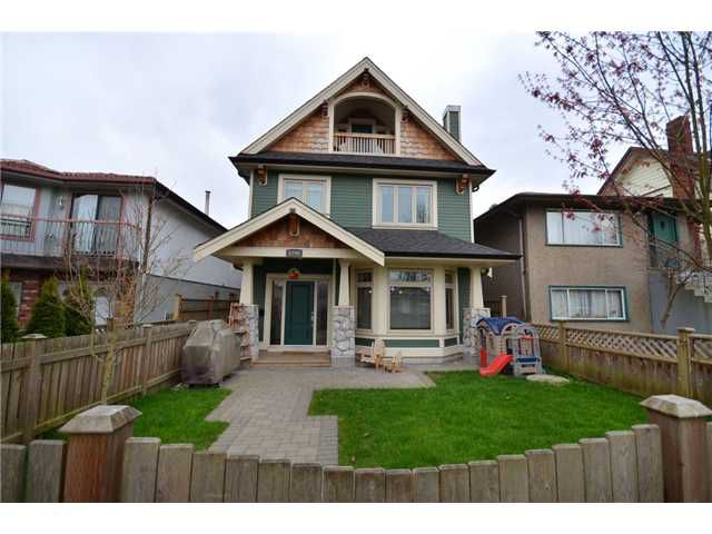 """Main Photo: 1196 E 11TH Avenue in Vancouver: Mount Pleasant VE House 1/2 Duplex for sale in """"Mount Pleasant"""" (Vancouver East)  : MLS®# V942762"""