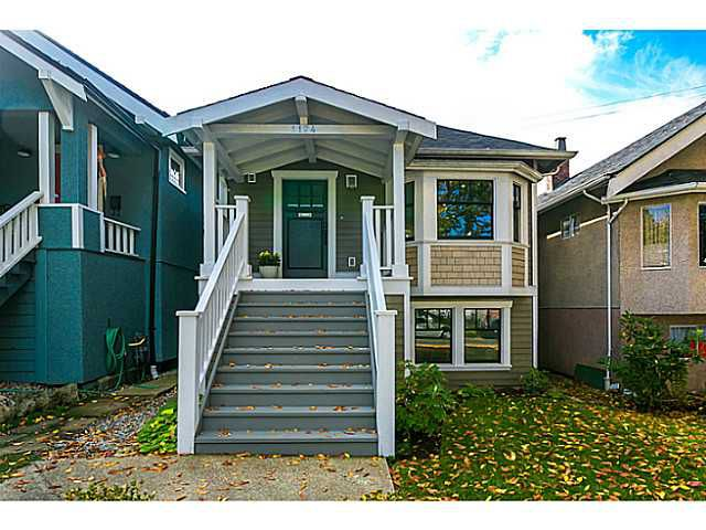 Main Photo: 1124 E 19TH AV in Vancouver: Knight House for sale (Vancouver East)  : MLS®# V1089954