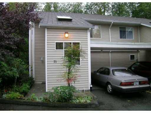 "Main Photo: 71 1235 LASALLE Place in Coquitlam: Canyon Springs Townhouse for sale in ""CREEKSIDE PLACE"" : MLS®# V929972"