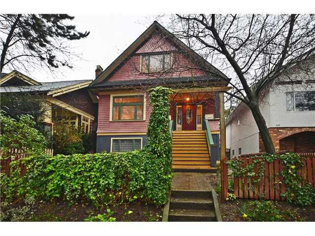 """Main Photo: 242 E 23RD Avenue in Vancouver: Main House for sale in """"MAIN"""" (Vancouver East)  : MLS®# V996039"""