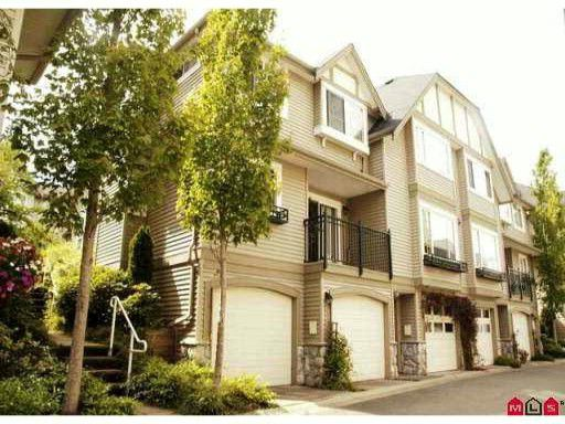 """Main Photo: 10 15488 101A Avenue in Surrey: Guildford Townhouse for sale in """"COBBLEFIELD LANE"""" (North Surrey)  : MLS®# F1219842"""