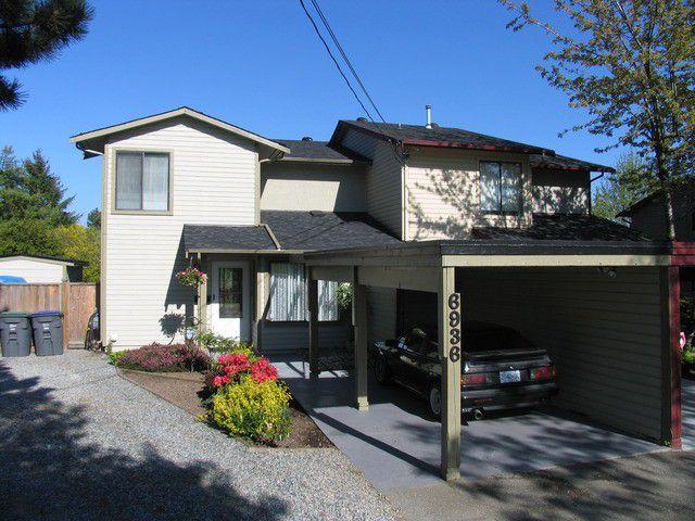 "Main Photo: 6936 134 ST in Surrey: West Newton House 1/2 Duplex for sale in ""Bentley"" : MLS®# F1309630"