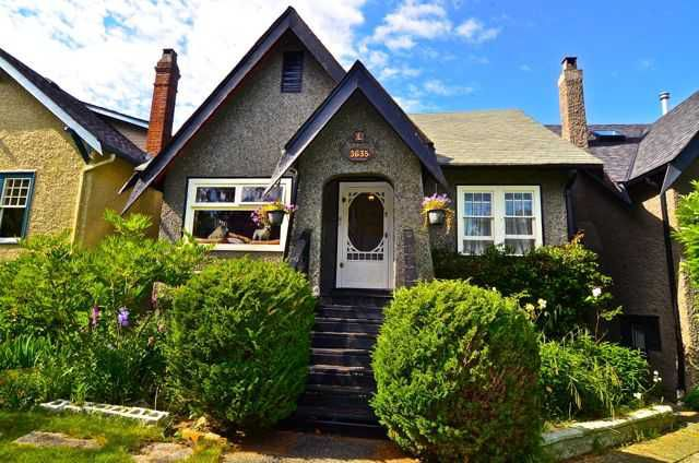 Main Photo: 3635 W 21ST Avenue in Vancouver: Dunbar House for sale (Vancouver West)  : MLS®# V1011902