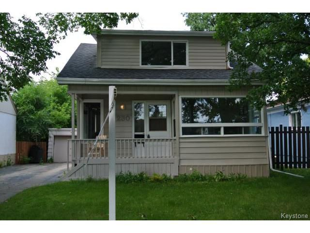 Main Photo: Albany Street in Winnipeg: Residential for sale : MLS®# 1317020