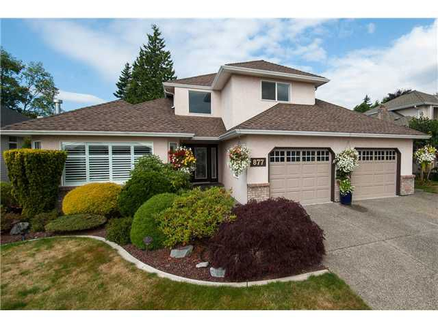 """Main Photo: 877 165A Street in Surrey: King George Corridor House for sale in """"South Meridian"""" (South Surrey White Rock)  : MLS®# F1319074"""