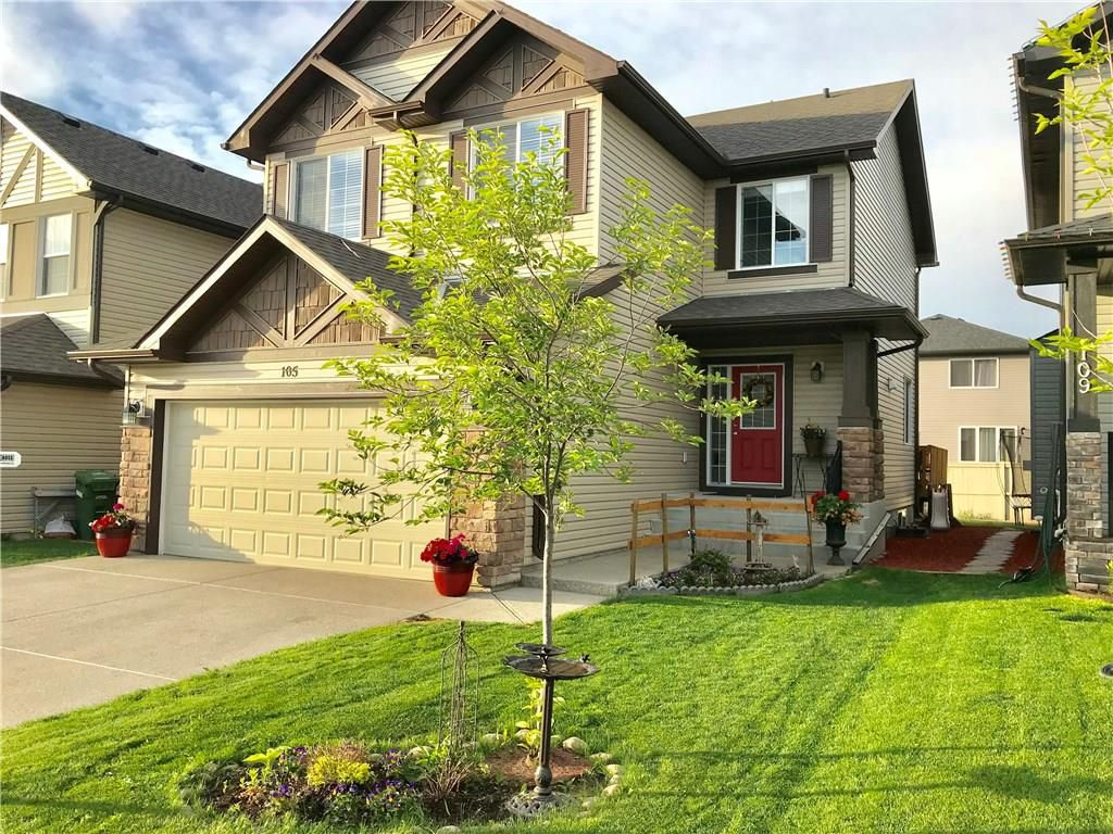 Main Photo: 105 BAYWATER WY SW: Airdrie House for sale : MLS®# C4183834