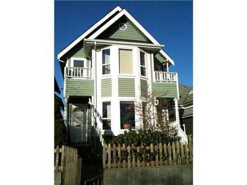 Main Photo: 639 PENDER Street in Vancouver East: Mount Pleasant VE Home for sale ()  : MLS®# V859615