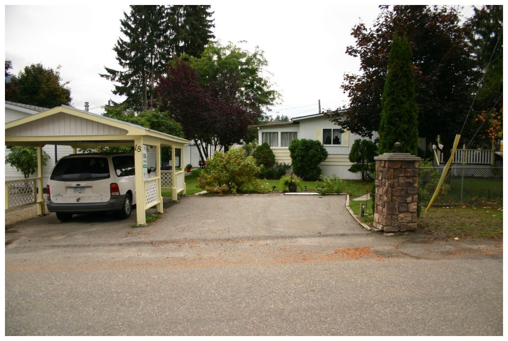 Main Photo: 18 5161 Northeast 63 Avenue in Salmon Arm: Cedar Crescent MHP House for sale : MLS®# 10097935