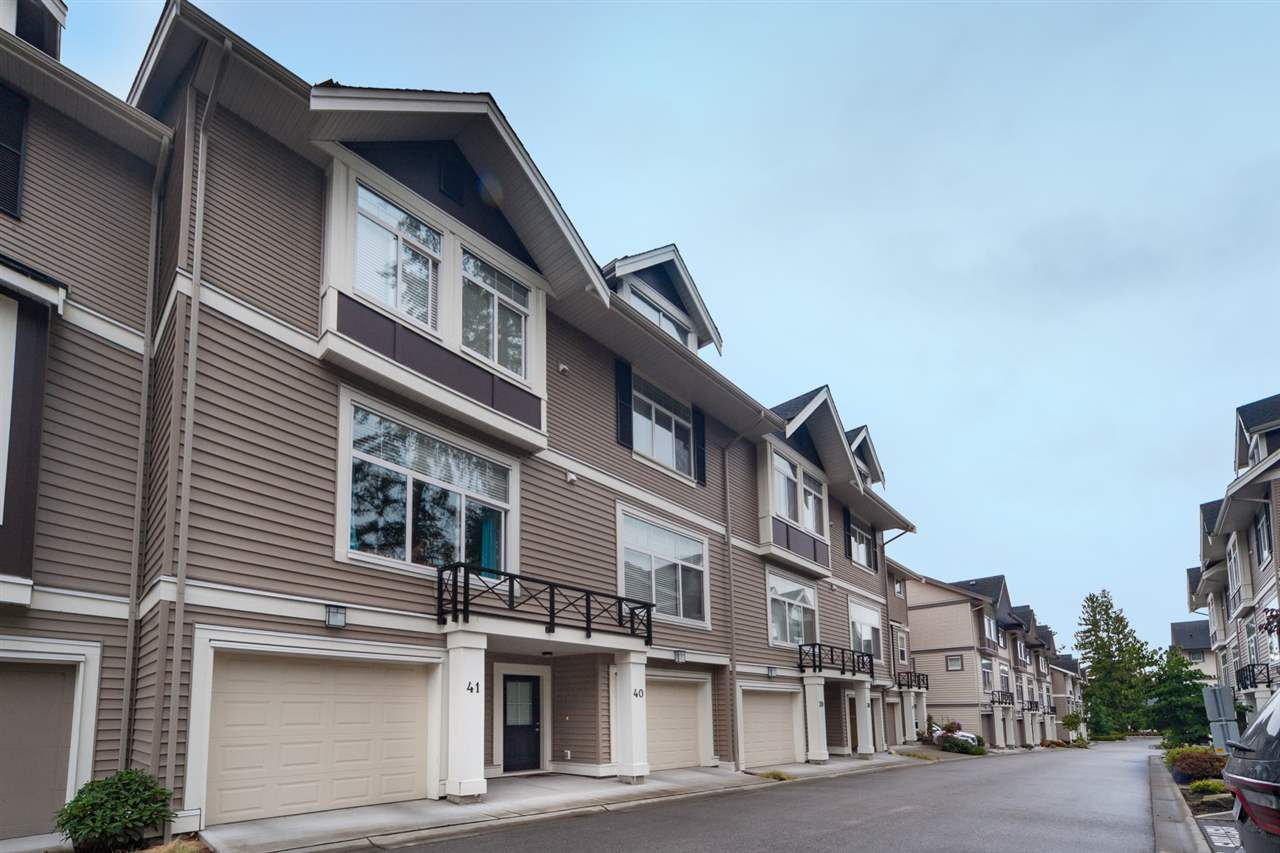 Main Photo: 41 14377 60 AVENUE in Surrey: Sullivan Station Townhouse for sale : MLS®# R2105966