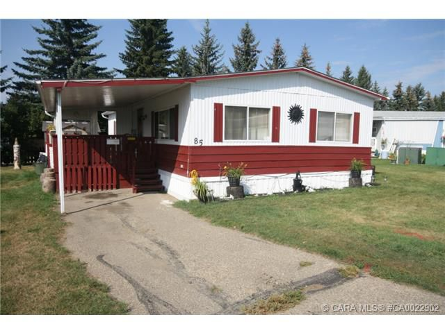 Main Photo: 85 Parkside Estates in Red Deer: RR Normandeau Residential Mobile for sale : MLS®# CA0022902