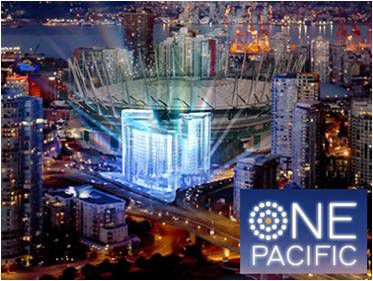Main Photo: #1815 at ONE PACIFIC by CONCORD PACIFIC in Vancouver: Downtown Condo  (Vancouver West)