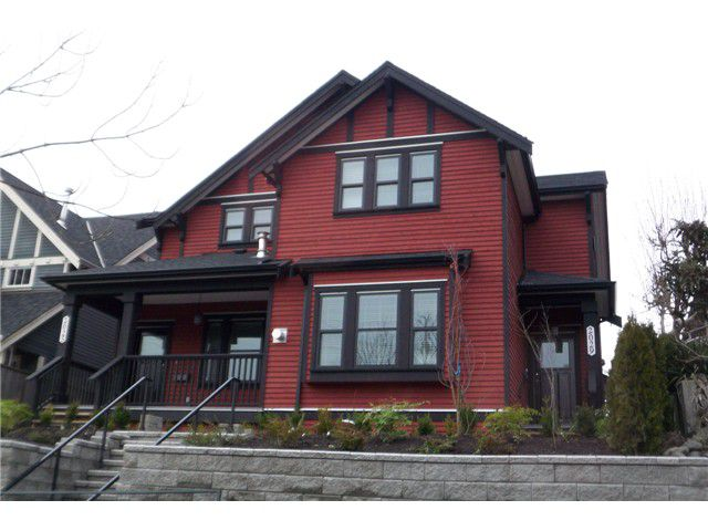 Main Photo: 2029 East 10th Avenue in Vancouver: Grandview VE House 1/2 Duplex for sale (Vancouver East)  : MLS®# V868162