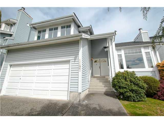 Main Photo: 1197 DURANT DR in Coquitlam: Scott Creek House for sale : MLS®# V1061756