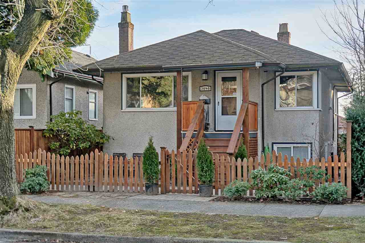 Main Photo: 3648 TURNER STREET in Vancouver: Renfrew VE House for sale (Vancouver East)  : MLS®# R2138053