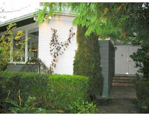 """Main Photo: 4465 WALLACE Street in Vancouver: Dunbar House for sale in """"DUNBAR"""" (Vancouver West)  : MLS®# V624255"""