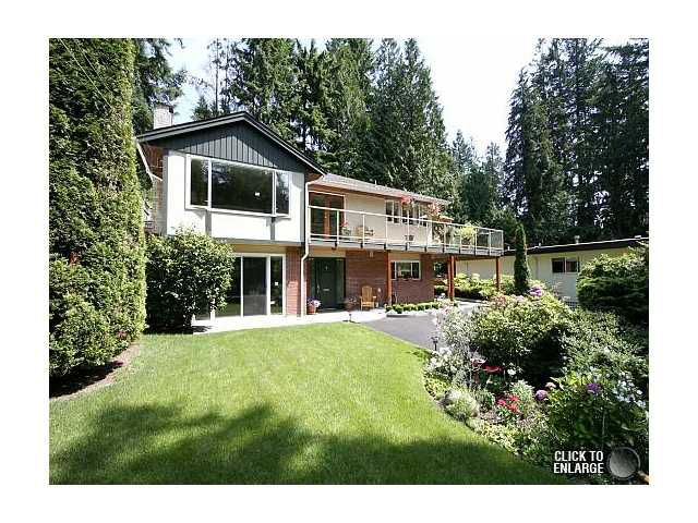 Main Photo: 1520 EDGEWATER Lane in North Vancouver: Seymour House for sale : MLS®# V956132
