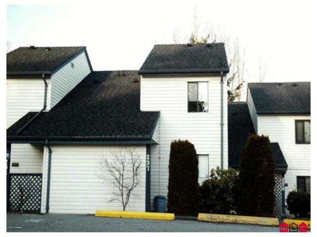 Main Photo: # 237 13612 67TH AV in Surrey: East Newton Townhouse for sale : MLS®# F1433274