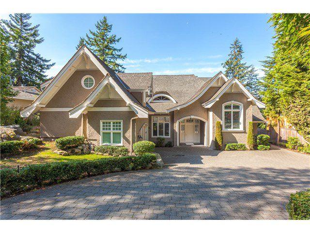Main Photo: 3817 Bayridge Avenue in West Vancouver: Bayridge House for sale : MLS®# R2028085