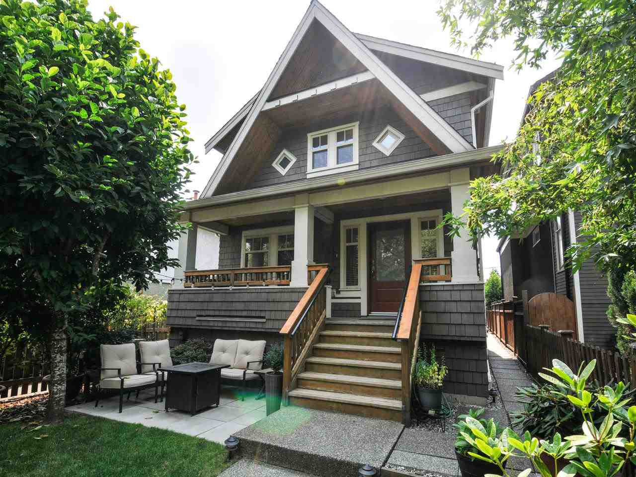 Main Photo: 1252 E 11TH AVENUE in Vancouver: Mount Pleasant VE House 1/2 Duplex for sale (Vancouver East)  : MLS®# R2317312