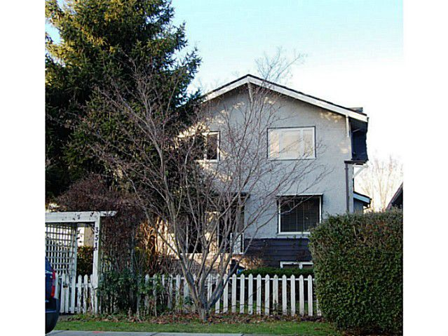 """Main Photo: 351 W 17TH Avenue in Vancouver: Cambie House for sale in """"CAMBIE VILLAGE"""" (Vancouver West)  : MLS®# V988218"""