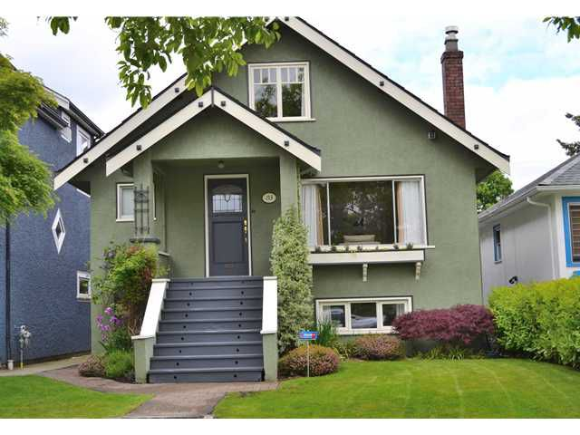 Main Photo: 153 W 20TH AV in Vancouver: Cambie House for sale (Vancouver West)  : MLS®# V1065307