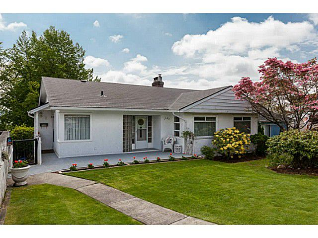 Main Photo: 1920 SEVENTH AV in New Westminster: West End NW House for sale : MLS®# V1063022