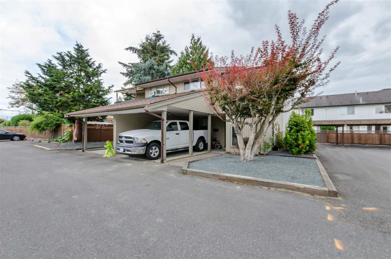 Main Photo: 6 45900 LEWIS AVENUE in Chilliwack: Chilliwack N Yale-Well Townhouse for sale : MLS®# R2103066