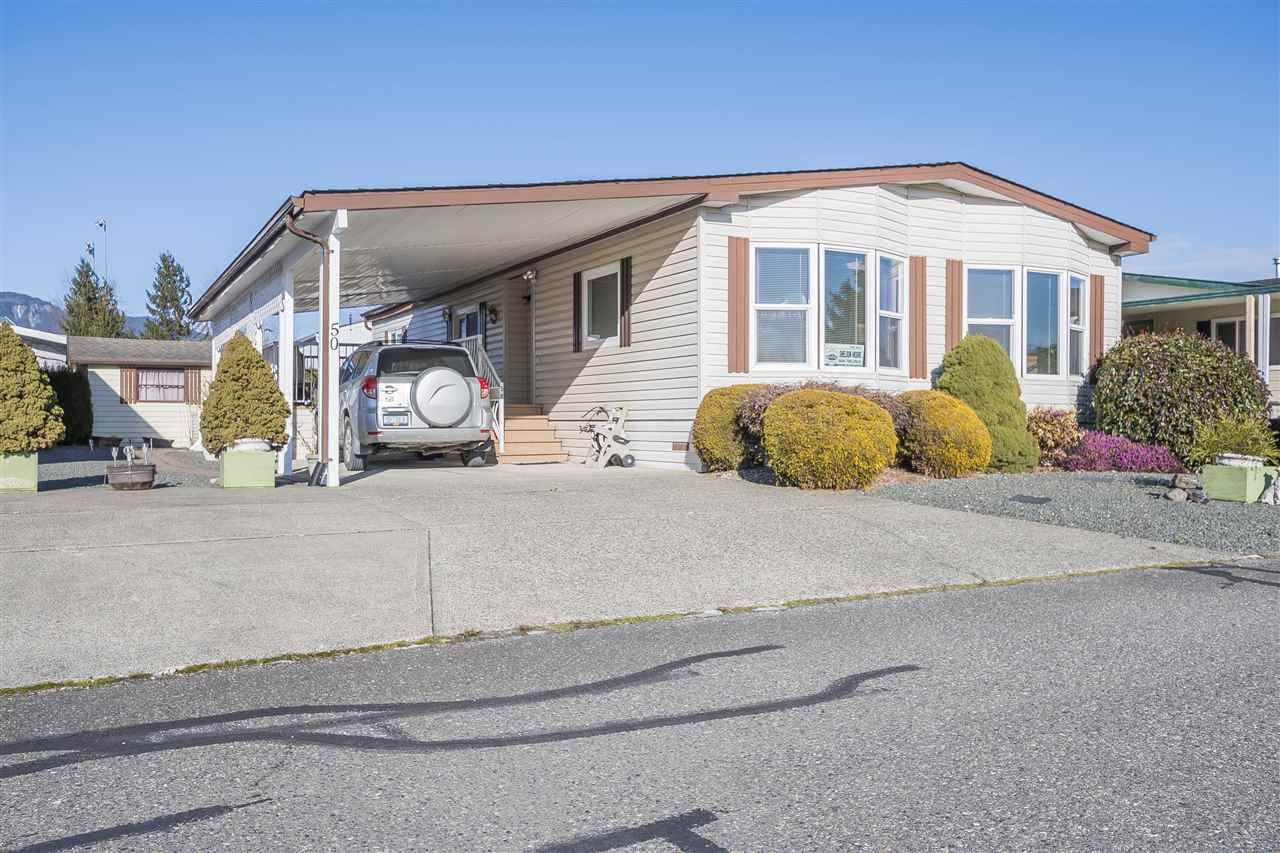 Main Photo: 50 9055 ASHWELL ROAD in Chilliwack: Chilliwack W Young-Well Manufactured Home for sale : MLS®# R2339271