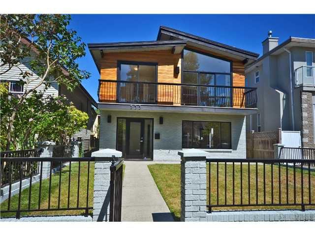 Main Photo: 535 E 47TH AV in Vancouver: Fraser VE House for sale (Vancouver East)  : MLS®# V1021851