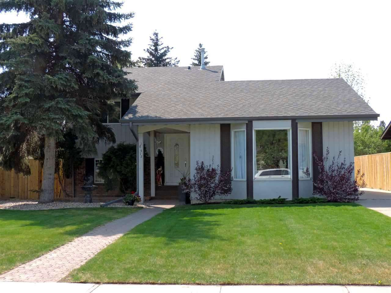 Main Photo: 18415 82 AV NW in Edmonton: Zone 20 House for sale : MLS®# E4020994