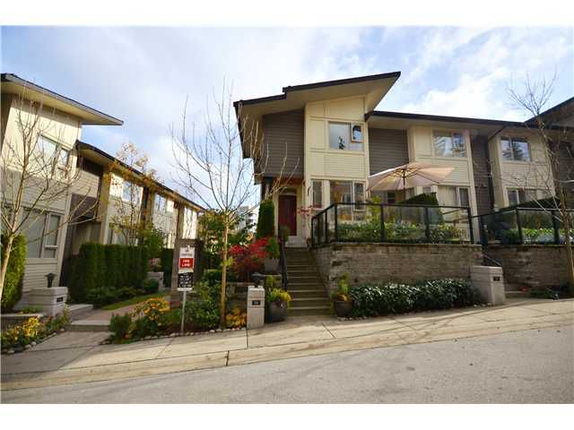 """Main Photo: 58 9229 UNIVERSITY Crescent in Burnaby: Simon Fraser Univer. Townhouse for sale in """"SERENITY"""" (Burnaby North)  : MLS®# V958888"""