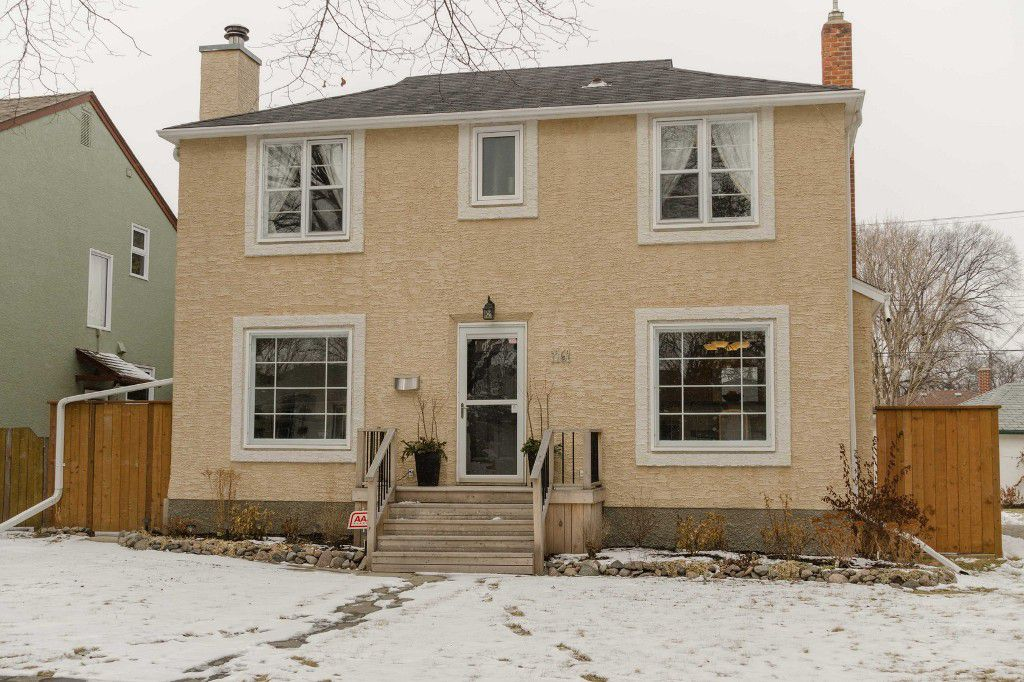 Main Photo: 1161 Mulvey Avenue in Winnipeg: Single Family Detached for sale (Crescentwood)  : MLS®# 1506947