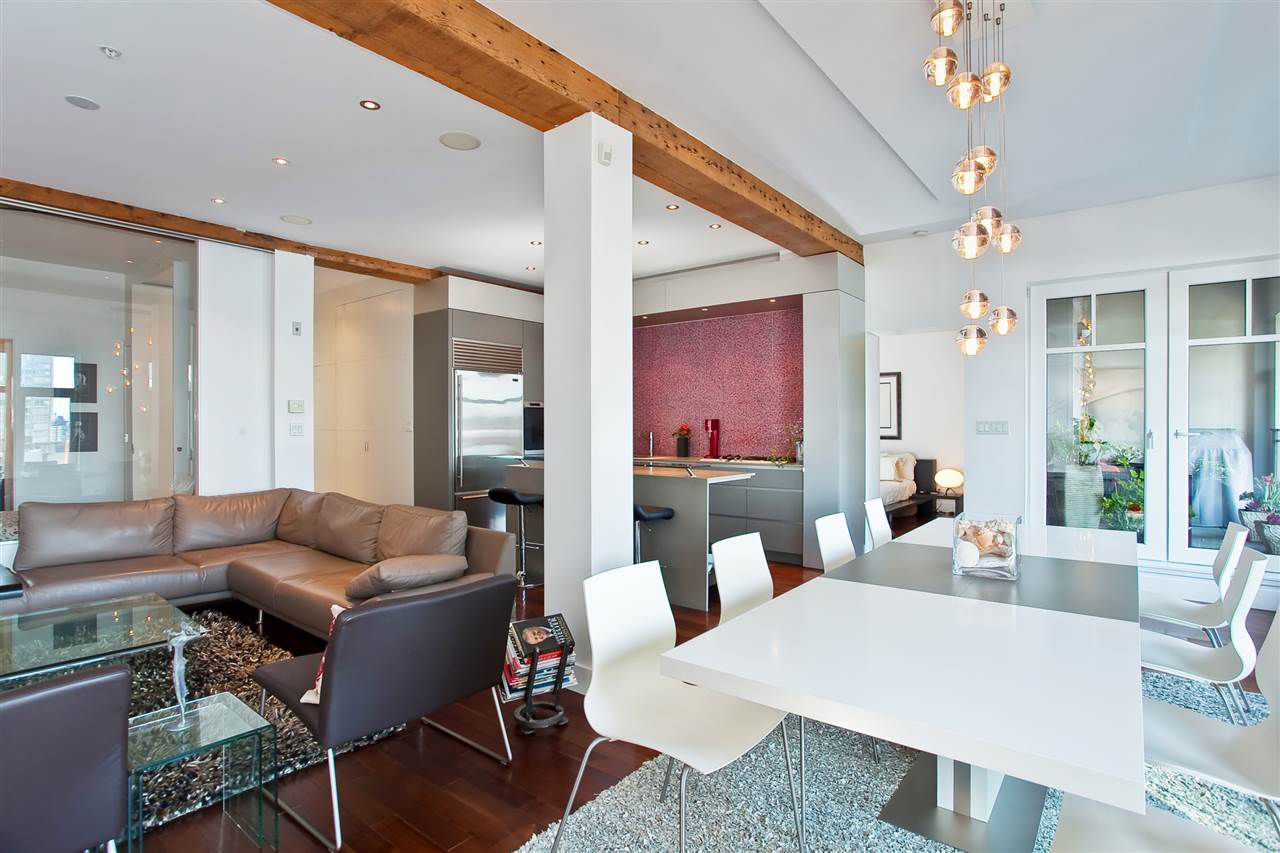 Photo 4: Photos: 603 1275 HAMILTON STREET in Vancouver: Yaletown Condo for sale (Vancouver West)  : MLS®# R2048508