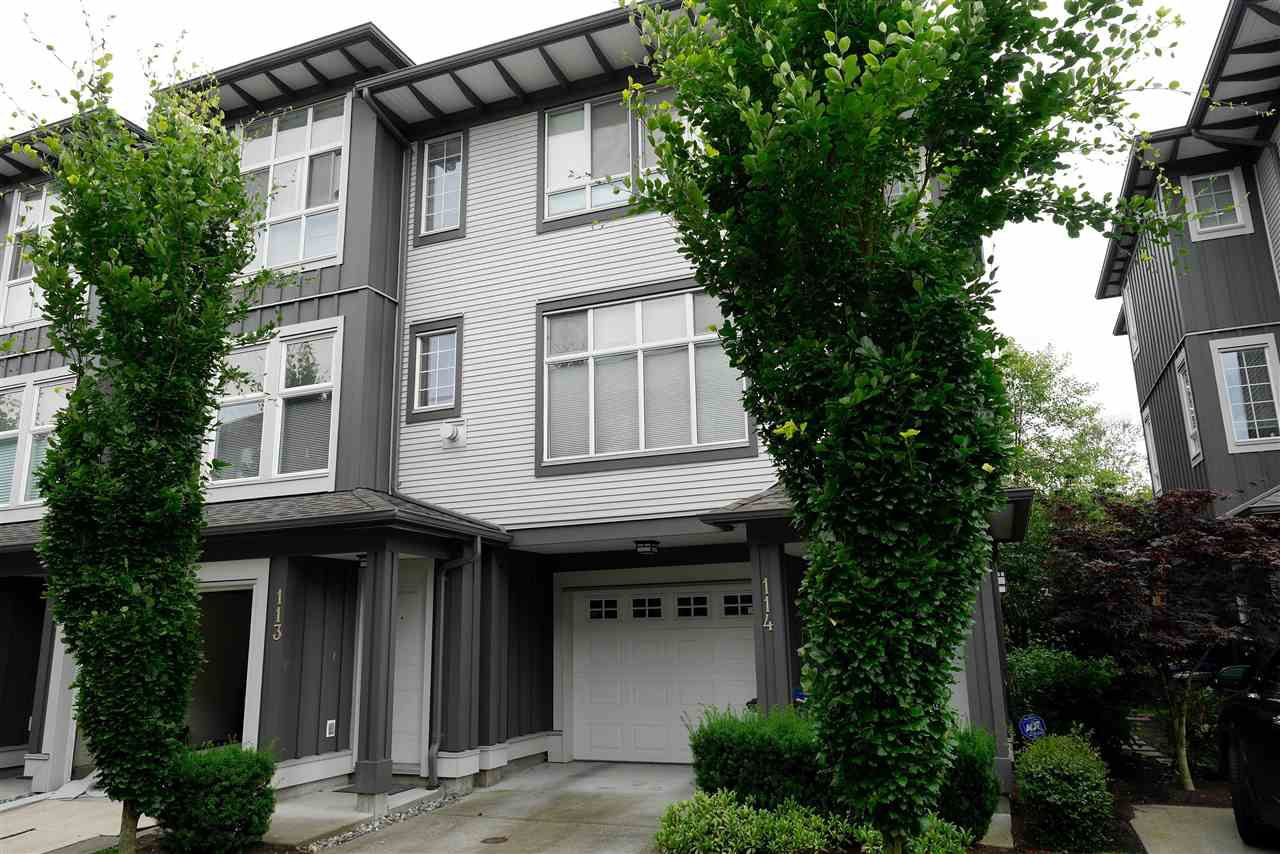 Main Photo: 113 18777 68A AVENUE in Langley: Clayton Townhouse for sale (Cloverdale)  : MLS®# R2084636