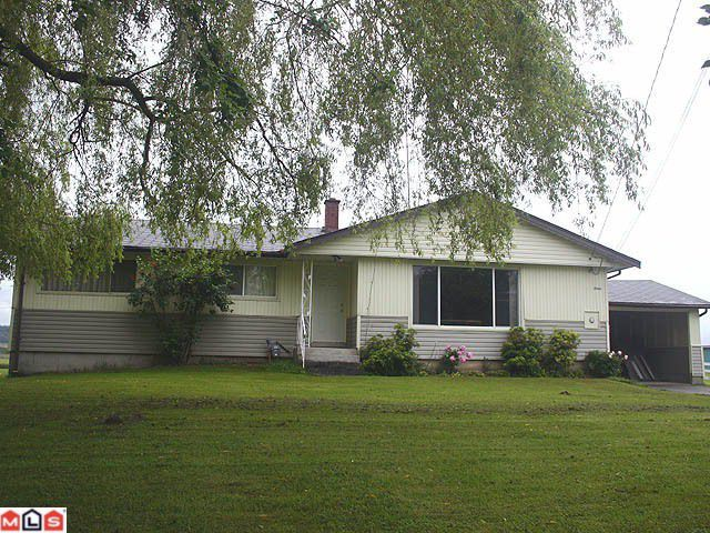 "Main Photo: 31669 TOWNSHIPLINE Road in Abbotsford: Matsqui House for sale in ""Matsqui Flats"" : MLS®# F1214602"